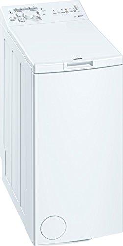 Siemens WP10R156 iQ100 Waschmaschine TL / A++ / 173 kWh/Jahr / 949 UpM / 6 kg / 8926 L/Jahr / Großes Display mit Endezeitvorwahl / weiß