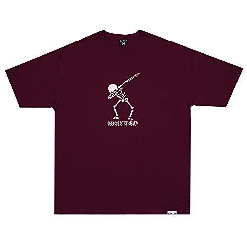 Camiseta Wanted - DAB OG Vermelho Cor:Vermelho;Tamanho:M