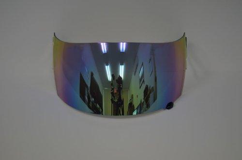 Regular Mirror Iridium Helmet Visor Shield for Suomy Spec 1r Extreme Apex Excel (Aftermarket Shield)