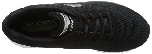 Skechers Schwarz Advantage Bkw Sneakers Herren nbsp;Covert Action Flex pgwAp8Tx