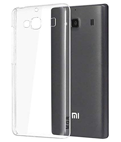 best website 11918 f389c MGR 0.5mm Slim TPU Soft Transparent Flexible Back Case Cover for Xiaomi  Redmi 2 / 2s / 2 Prime (Clear)