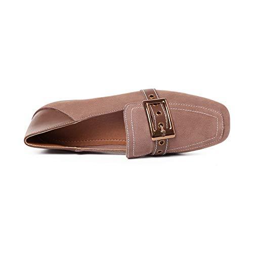 36 AN Kaki Marron 5 Sandales Femme DGU00793 Compensées BnagYq