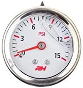 Red Horse Performance 5001-15-1 Fuel Pressure Gauge
