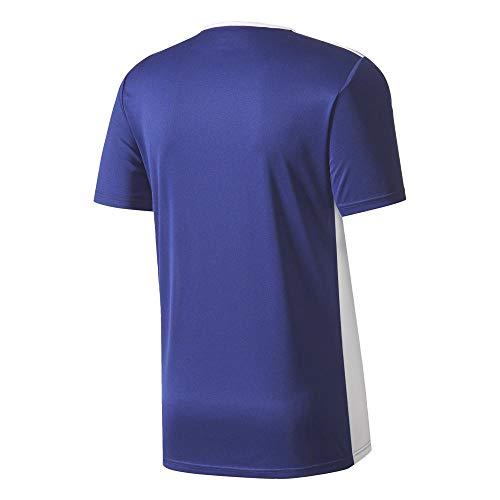 18 white T Entrada Uomo Blue Blu shirt Adidas dark 8T5wqpT