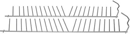 2x pieza para cesta Rejilla Gafas Estantería Cesta para vajilla Bosch Siemens 357872
