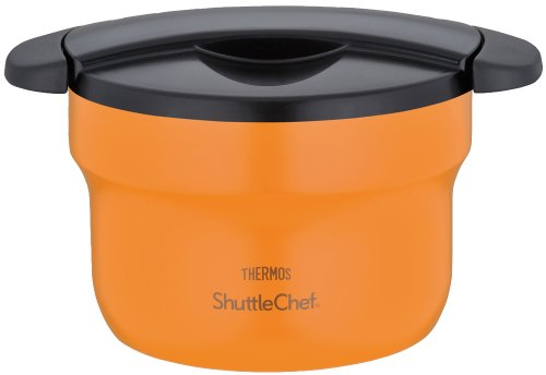 THERMOS vacuum thermal insulation cooker shuttle chef 1.6L apricot KBF-1600 APR by Thermos