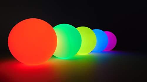Higgins Brothers Luster LED Light-Up Juggling Balls (Multi-Color Strobe) by Higgins Brothers (Image #4)