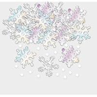 Amscan International 360126 Snowflakes Confetti, 14 g