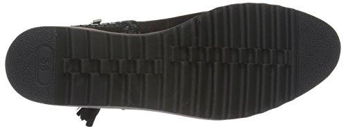 Marco Tozzi Damen 25417 Kurzschaft Stiefel Schwarz (Black Comb 098)