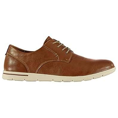 Soviet Breton Cushioned Lace Up Shoes Mens Smart UK 8 (42) Tan