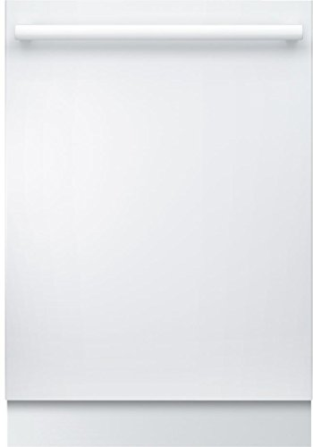 Bosch SHXM78W52N 24″ 800 Series Built In Fully Integrated Dishwasher with 6 Wash Cycles, in White
