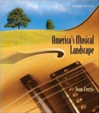book cover of America\'s Musical Landscape