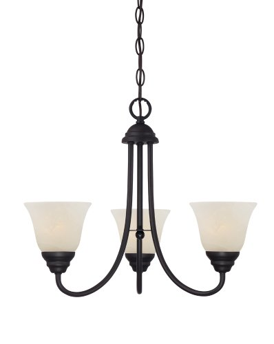 Designers Fountain 85183-ORB Kendall 3 Light Chandelier