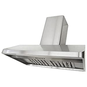 Kobe 42W in. CH9142SQB-WM-1 Wall Mounted Range Hood