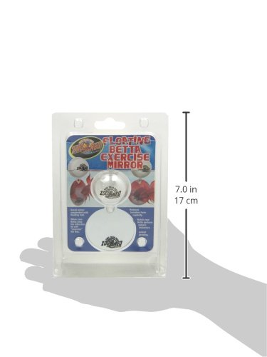 Zoo med floating betta exercise mirror import it all for Betta fish mirror