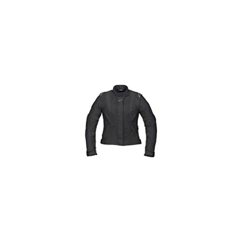 Alpinestars Stella P1 Sport Touring Drystar Textile Womens Jacket , Gender: Womens, Size: XL, Apparel Material: Leather, Primary Color: Black 321759-10-XL