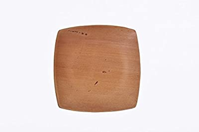 "6"" Quadrato Square Palm Leaf Plate"