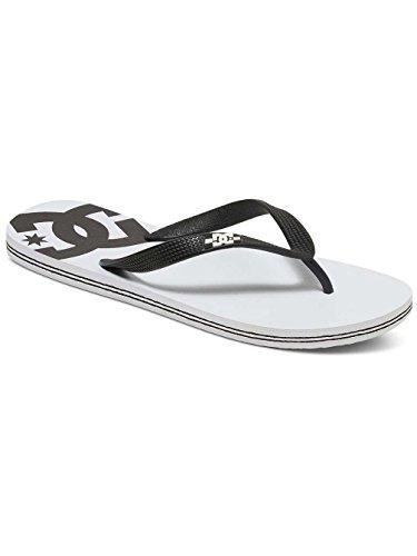 White Shoes Dc Spray black Basic M Plate Plateforme Sndl Homme 4nA1w