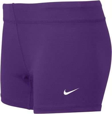 Nike Performance Women's Volleyball Game Shorts (XX-Large, Purple) Nike Lycra Shorts