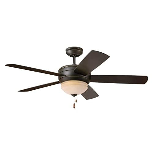 Ceiling fan with night light amazon emerson cf850ges summerhaven 52 inch ceiling fan with light golden espresso finish mozeypictures Image collections