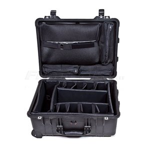 Pelican 1560SC Watertight Studio Hard Case, with Wheels - Olive Drab Green