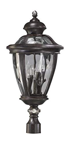 (Five Light Baltic Granite Clear Glass Post)