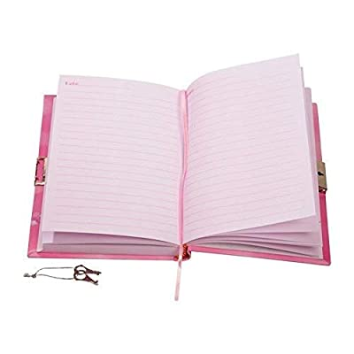 Pink Butterfly Diary Children's Lockable Secret Journal: Toys & Games