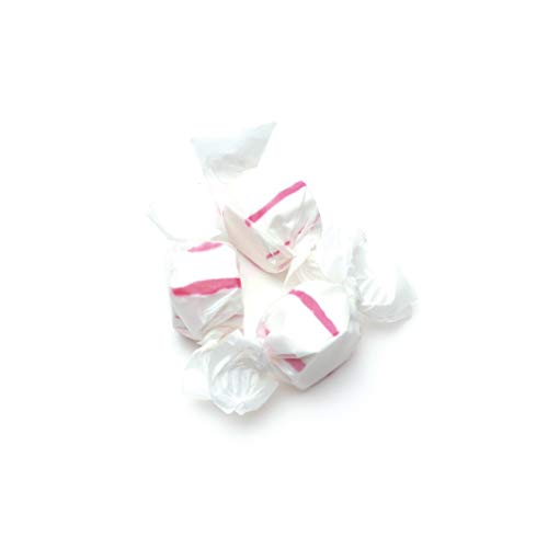 Red & White Peppermint Salt Water Taffy 3lb by Sweets