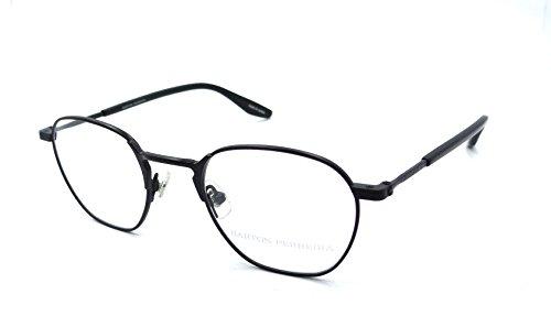Barton Perreira RX Eyeglasses Frames Ginsberg 46x21 Matte Black Made in - Perreira Barton Eyeglasses