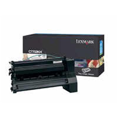 Lexmark C770/C772 Print Cartridge Yield 10000 Pages At 5 percent Coverage Black
