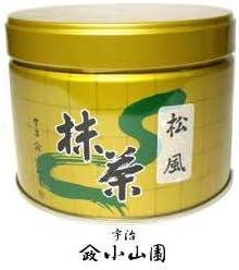 【抹茶・茶道具 小山園】京都 宇治 山政小山園 松風150g缶