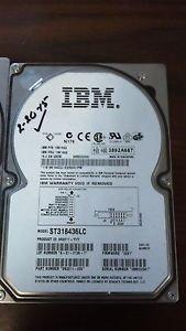 Ultra160 Scsi Hard Disk Drive - IBM 19K1462 18.2GB 7200rpm Ultra160 SCSI hot-swap slimline hard disk drive..