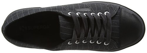 Pinstripefglm 004 Low 2750 Uomo Grey Grey Fabric Superga Top Scarpe pIExWw8