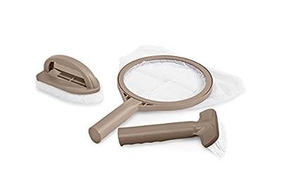 Intex PureSpa Hot Tub Maintenance Accessory Kit w/Brush +Skimmer +Srubber 28004E