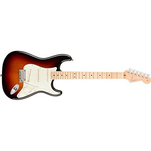 American Pro Stratocaster 3 Color Sunburst MN + Etui