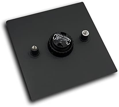 Design sonnette en acier inoxydable Anthrazitgrau Soie Brillant RAL 7016 environ mocavi Bague 125