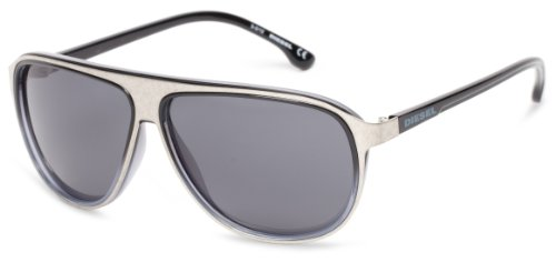 Diesel DL00576405V Aviator Sunglasses,Grey,64 - Aviators Diesel