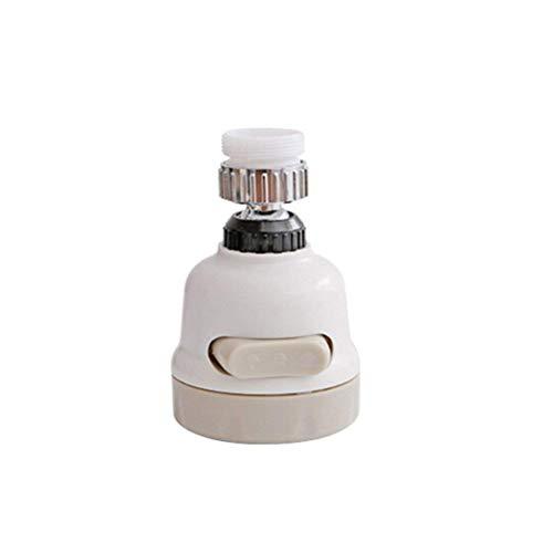 SAM APPLIANCES 360 Degree Rotating Water-Saving Sprinkler, Faucet Aerator, 3-Gear Adjustable Head Nozzle Splash-Proof Filter Extender Sprayer for Kitchen Bathroom, Water Faucet Kitchen tap