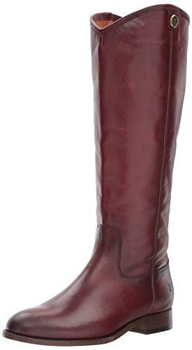 Frye Womens Melissa Button 2 Extended Vitello Da Equitazione Vitello Esteso