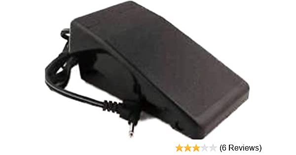 Amazon.com: FOOT CONTROL PEDAL W/ Cord Singer 7258 Stylist 7412 7422 7424 7425 7426 7427 +