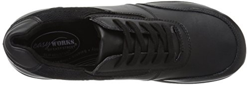 Easy Works Womens Middy Health Care Scarpa Professionale Nero / Mesh