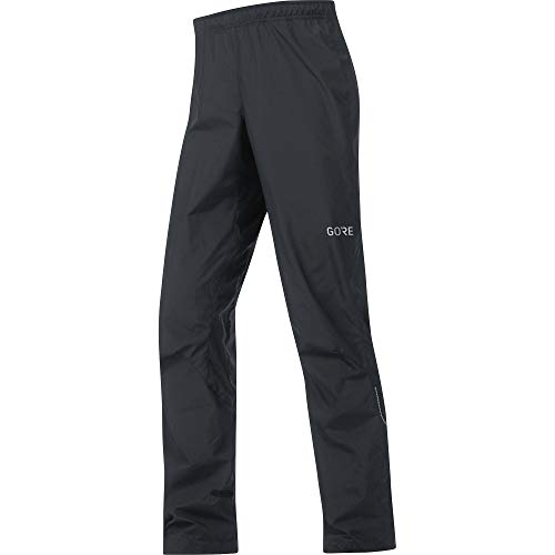 GORE Wear Men's Windproof Long Cycling Pants, GORE Wear C3 GORE Wear WINDSTOPPER Pants, Size: L, Color: Black, 100038 from GORE WEAR