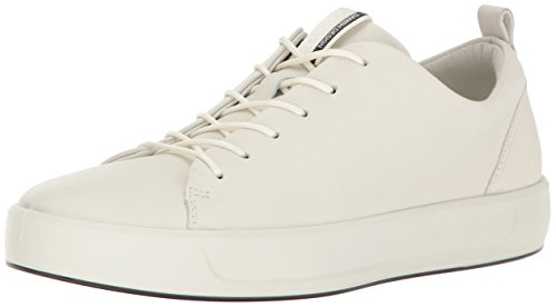 1007white 8 Ladies Ecco Femme Basses Blanc Baskets Soft 60A6qxw7O