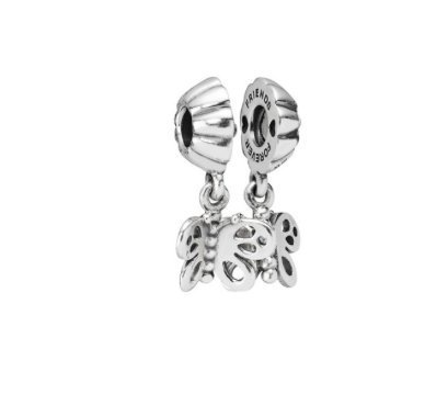 Pandora Best Friends Forever Butterfly Charm