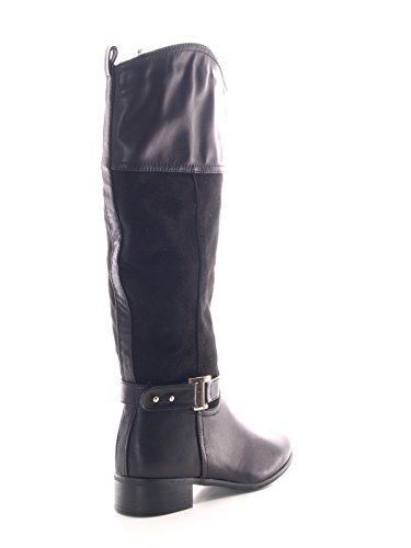 Damen Stiefel Schwarz warm gefüttert # 951