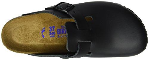 Birkenstock Classic Boston Softfootbed Unisex-Erwachsene Clogs, Schwarz, 39 EU
