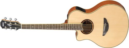 Yamaha APX700 Acoustic Electric Guitar, Natural, Left Handed