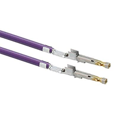Pack of 100 1722533111-08-V0-D 8 PRE-CRIMP 1856//19 VIOLET