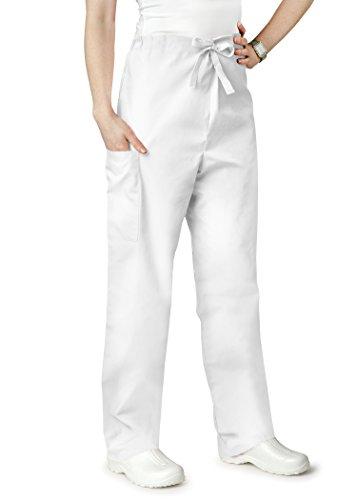 Adar Universal Unisex Natural-Rise Drawstring Tapered Leg Pants - 504 - White - - Store Universal Outlet Studios