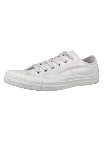 Converse Unisex-Erwachsene CTAS Ox Sneaker Mehrfarbig (Barely Grape/Barely Grape)